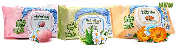 Bebelan wet wipes